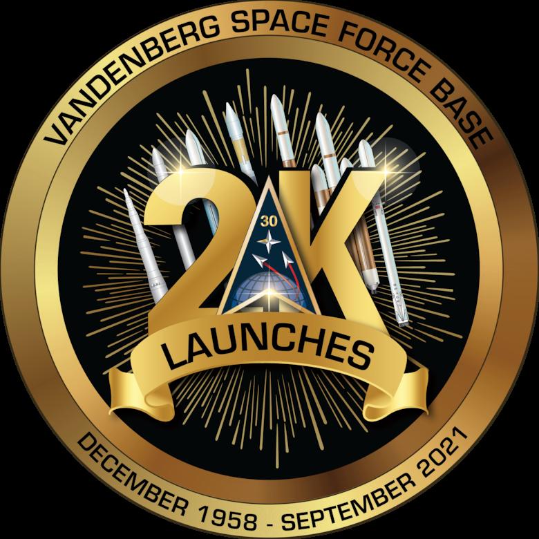 VSFB 2K Launch Logo