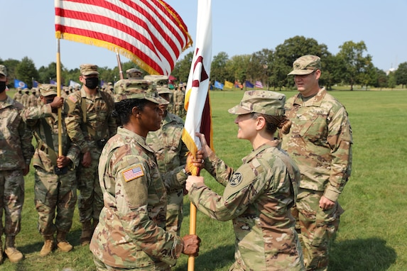 410th Hospital Center Change of Command Ceremony