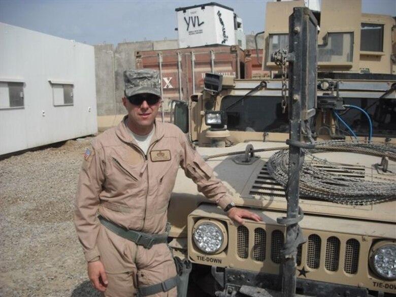 Cadell in Iraq