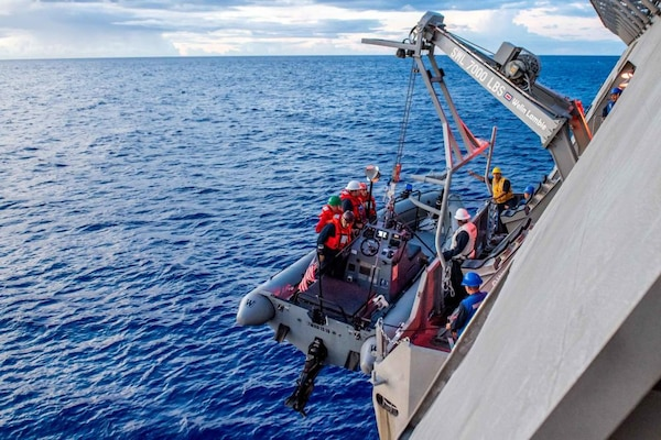 USS Charleston (LCS 18) Conducts Routine Operations