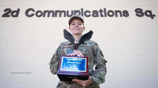 Waugaman was put up for the Patriot Award for her life-saving efforts on a Bomber Task Force deployment at the beginning of 2021 where she saved the life of a drowning snorkeler