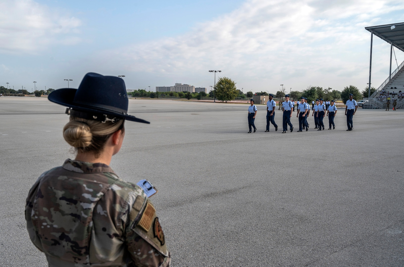 MTI reviews drill competition