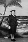 """Lois Bouton, who served as a SPAR from 1943 to 1945, went on to write more than 100,000 letters to Coast Guard members over a span of 50 years, earning her the affectionate title, """"The Coast Guard Lady."""" Photo courtesy of Lois Bouton."""