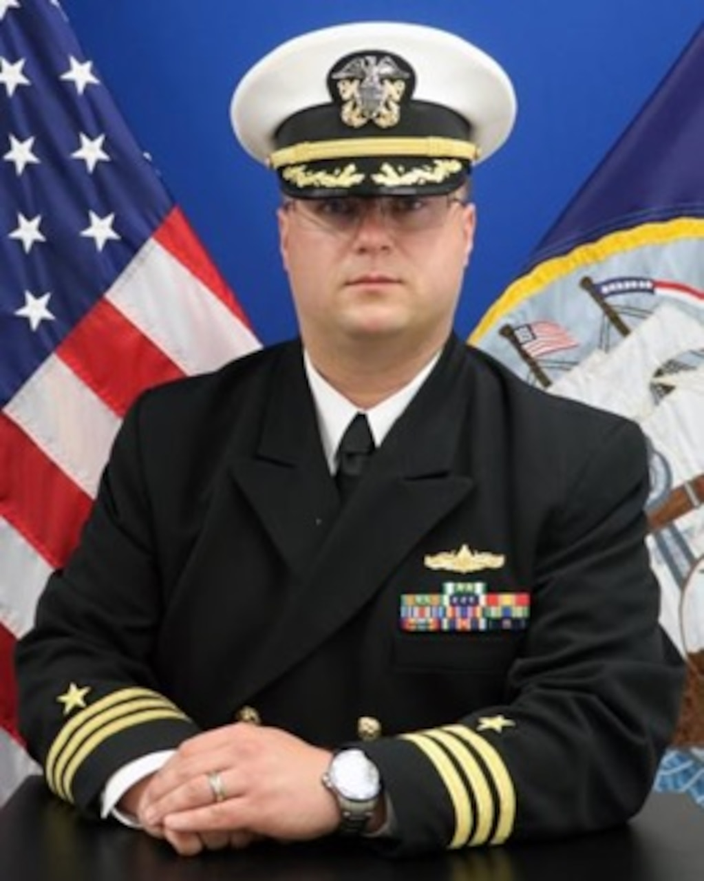 Commander Dan Kohlbeck