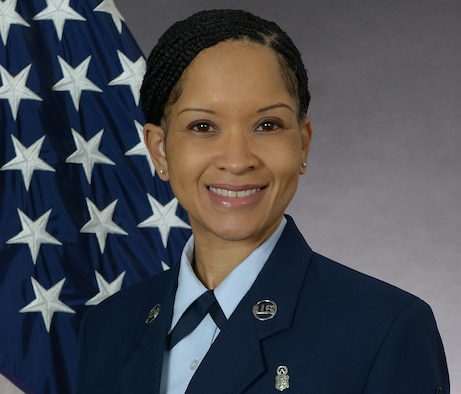 Senior Master Sgt. Shannel Curtiss, 633rd Communications Squadron First Sergeant