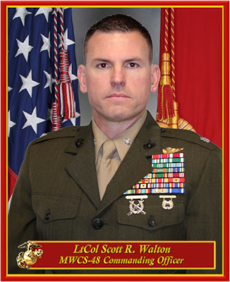 COMMANDING OFFICER, MARINE WING COMMUNICATION SQUADRON-48