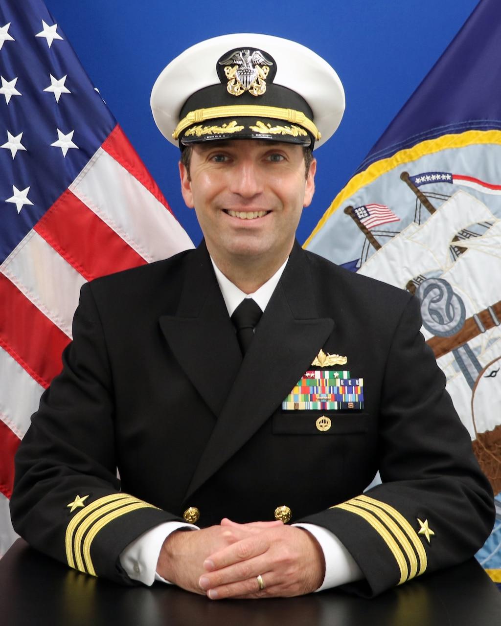 Commander Frank Megna