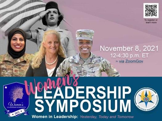 Women's Leadership Symposium 2021 graphic