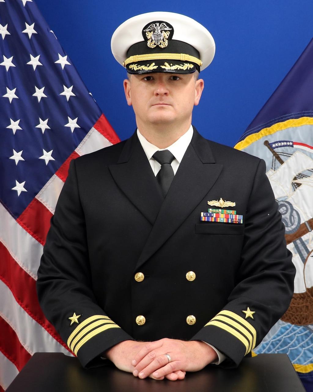 Commander Brian Laws