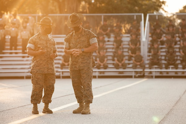 After 30 years of service, Sgt. Maj. William C. Carter retired from the United States Marine Corps. As he reflects back on his career, he still carries the values instilled in him as a young man.