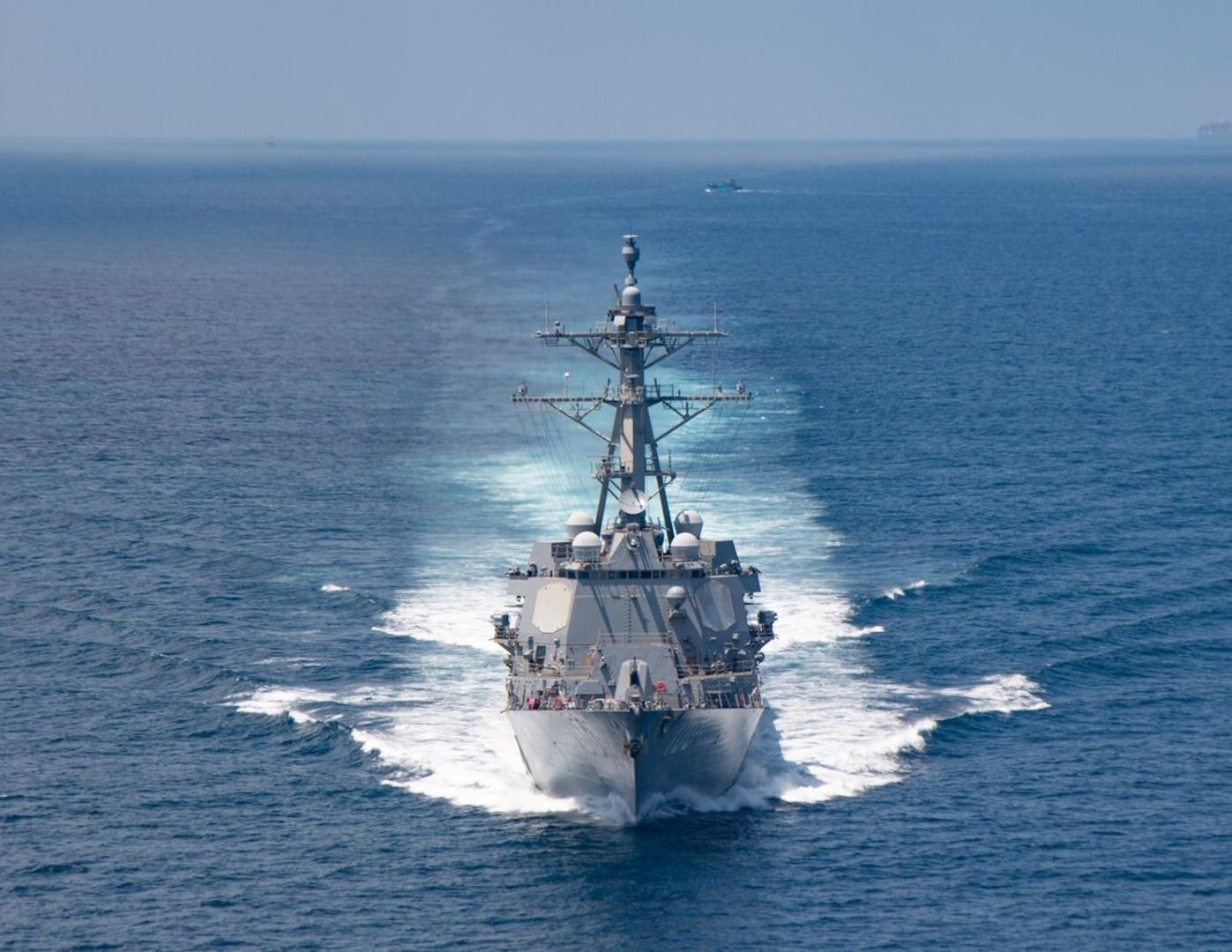 USS Kidd returns home from deployment
