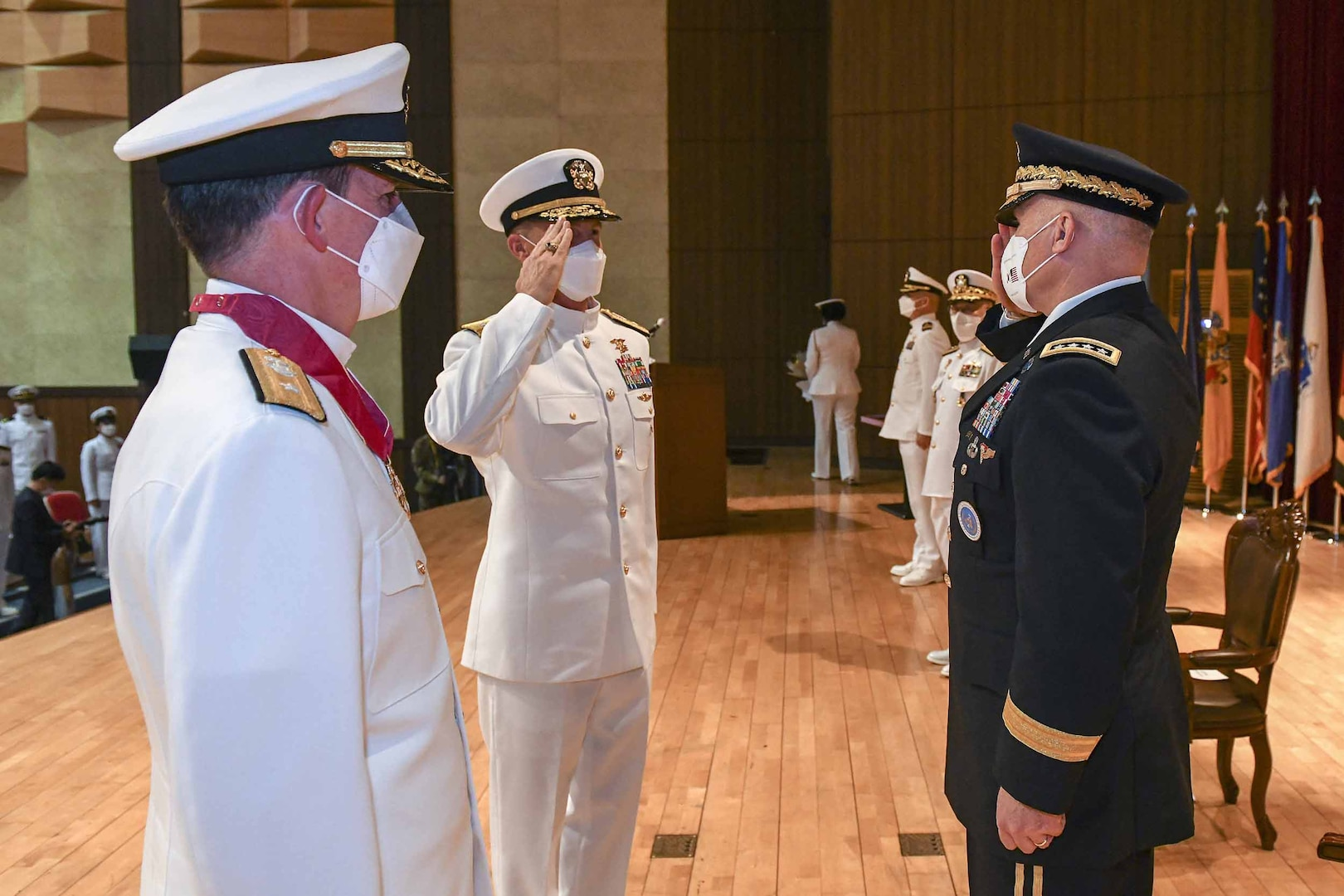 Schafer takes command of Naval Forces, Region Korea