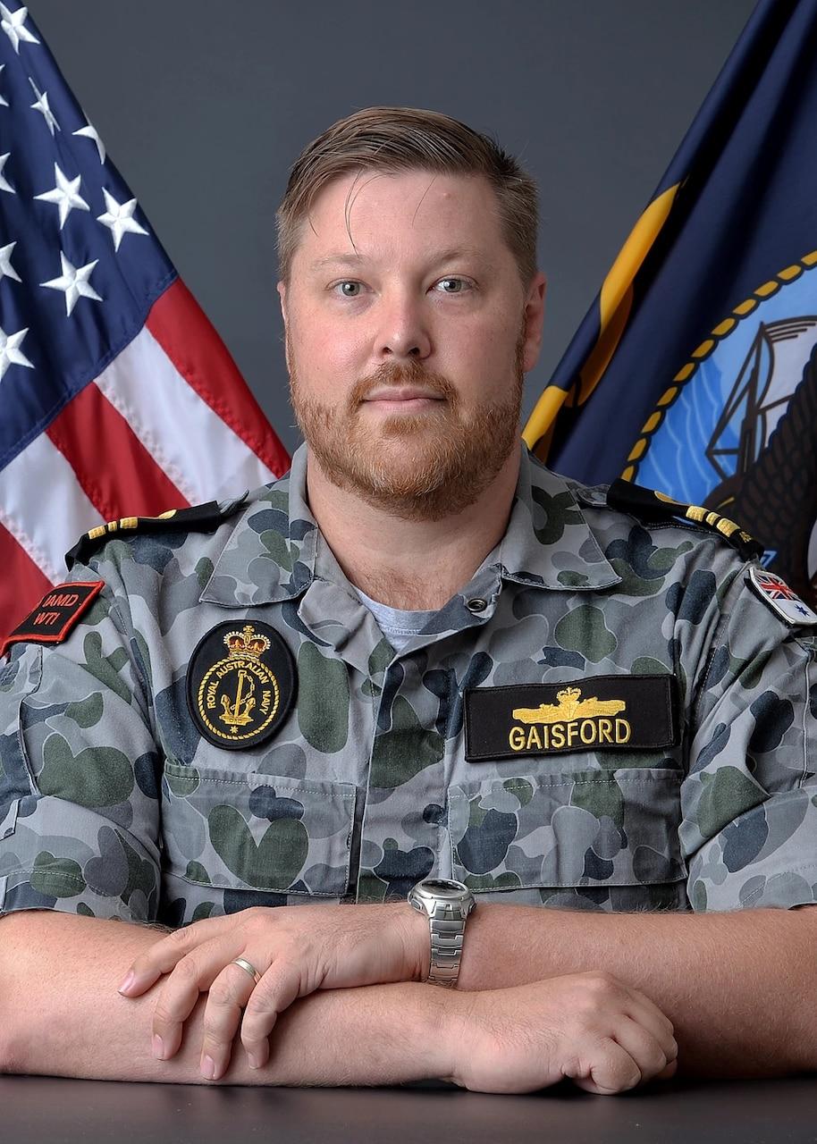 Royal Australian Navy Officer Joins the Cadre of Warfare Tactics Instructors