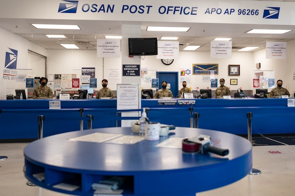 Beginning Oct. 1, the Osan Post Office will implement a new notification system for parcel pick-up. Customers will no longer receive yellow slips in their mailbox when a package arrives and will receive notification with their preferred choice of e-mail.