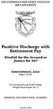 Punitive Discharge with Retirement Pay