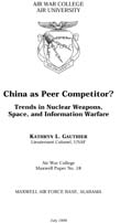 China as Peer Competitor?