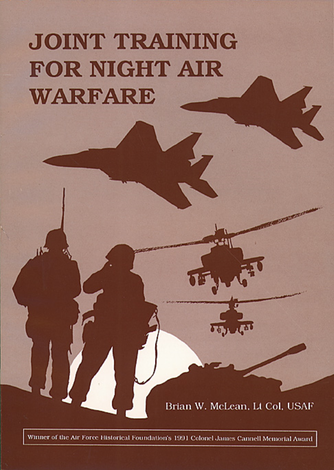 Joint Training for Night Air Warfare [ONLINE ONLY]