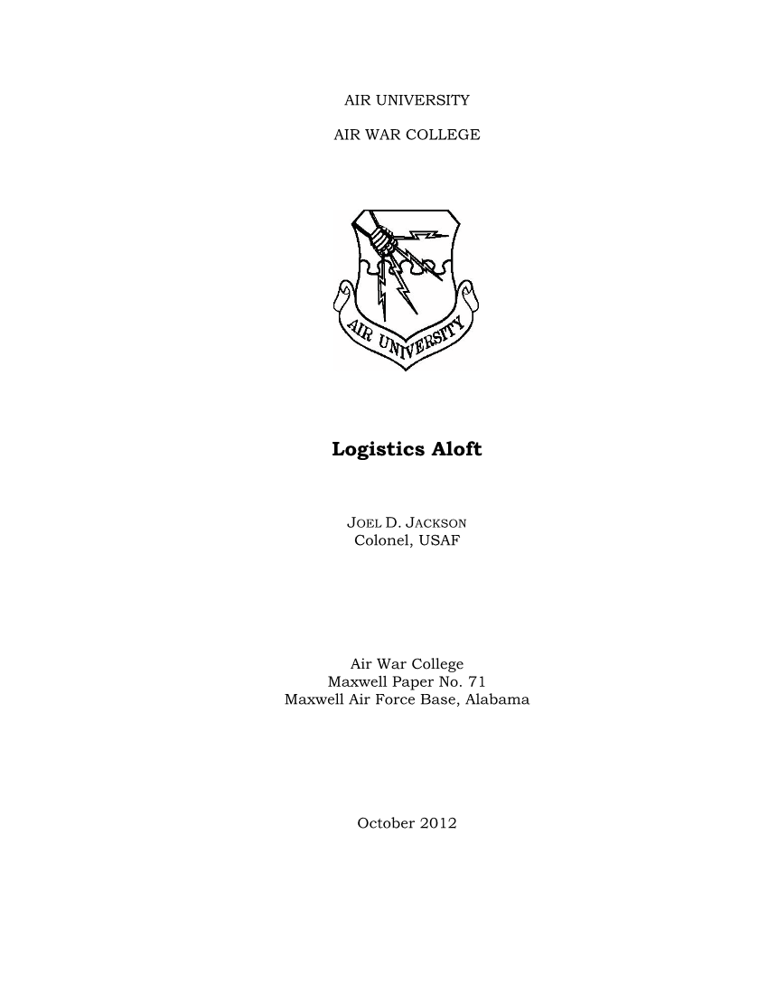Logistics Aloft