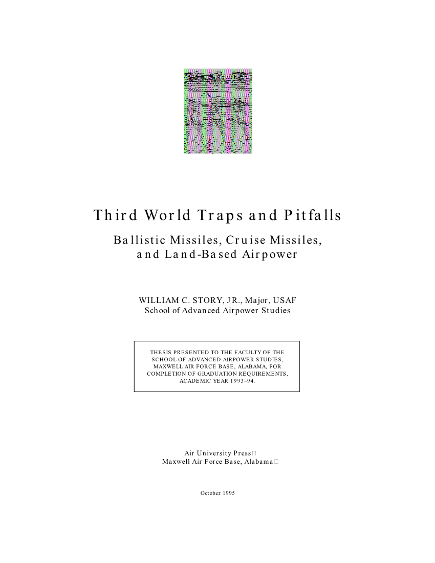 Third World Traps and Pitfalls