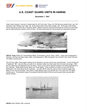 U.S. COAST GUARD UNITS IN HAWAII December 7, 1941
