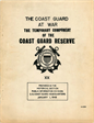 The Coast Guard at War The Temporary Component of the Coast Guard Reserve XX Prepared in the Historical Section Public Information Division US Coast Guard Headquarters January 1, 1948