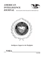 AMERICAN INTELLIGENCE JOURNAL THE MAGAZINE FOR INTELLIGENCE PROFESSIONALS
