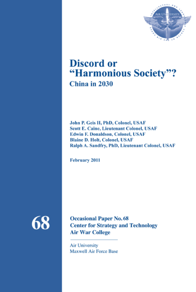 "CSAT 68: Discord or ""Harmonious Society""? [ONLINE ONLY]"