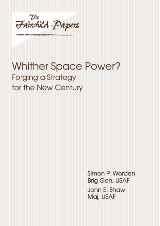 Whither Space Power?
