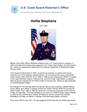 Hollis Stephens Master Chief Petty Officer of the Coast Guard (MCPOCG) Biography
