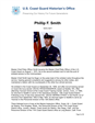 Phillip Smith Master Chief Petty Officer of the Coast Guard (MCPOCG) Biography