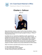 Charles Calhoun Master Chief Petty Officer of the Coast Guard (MCPOCG) Biography