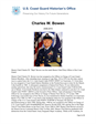 Charles Bowen Master Chief Petty Officer of the Coast Guard (MCPOCG) Biography