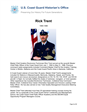 Rick Trent Master Chief Petty Officer of the Coast Guard (MCPOCG) Biography