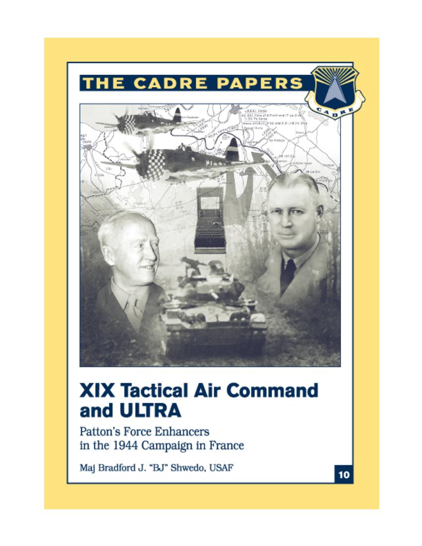 XIX Tactical Air Command and ULTRA