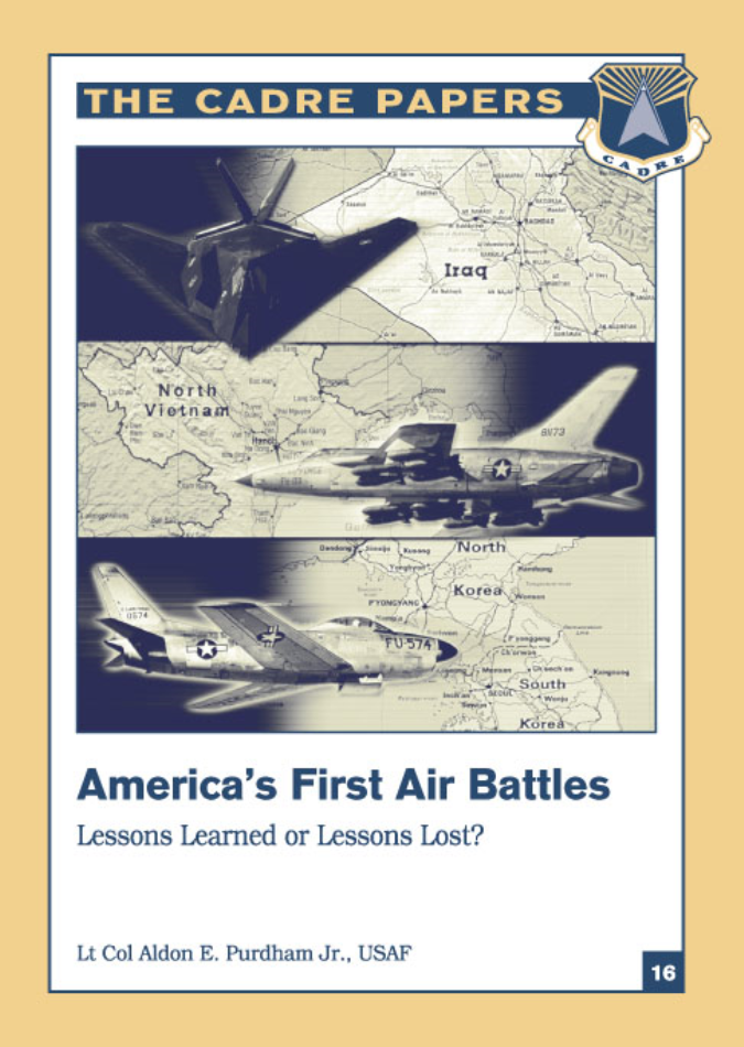 America's First Air Battles: Lessons Learned or Lessons Lost?