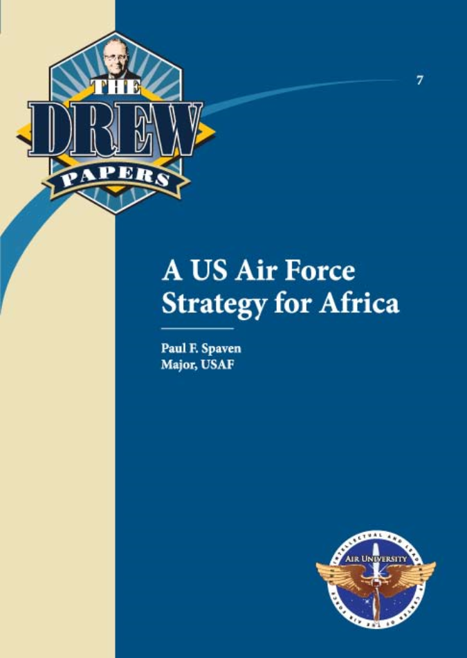 A US Air Force Strategy for Africa [ONLINE ONLY]