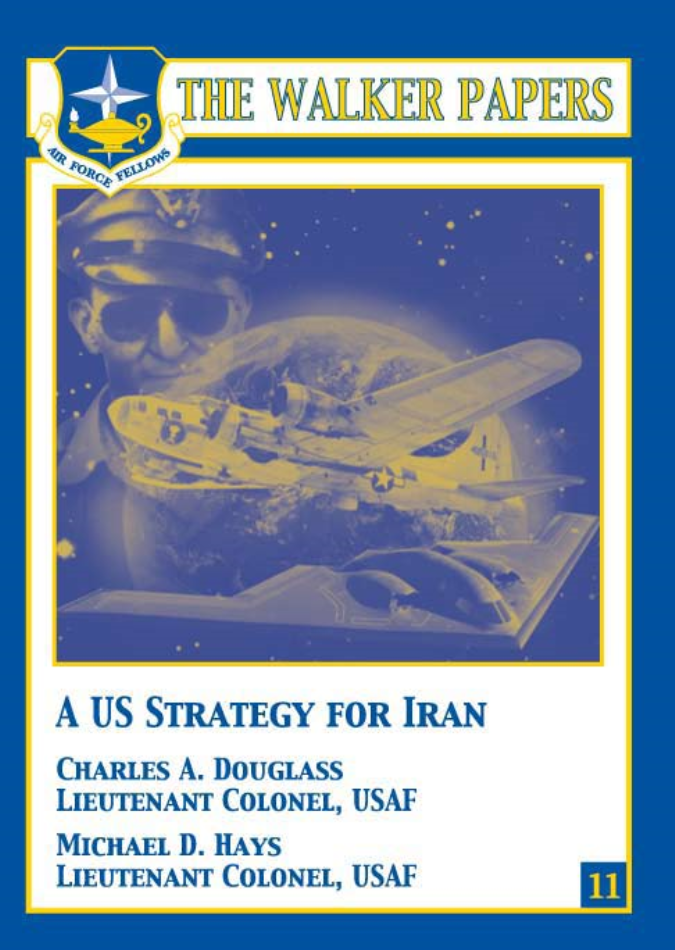 A US Strategy for Iran