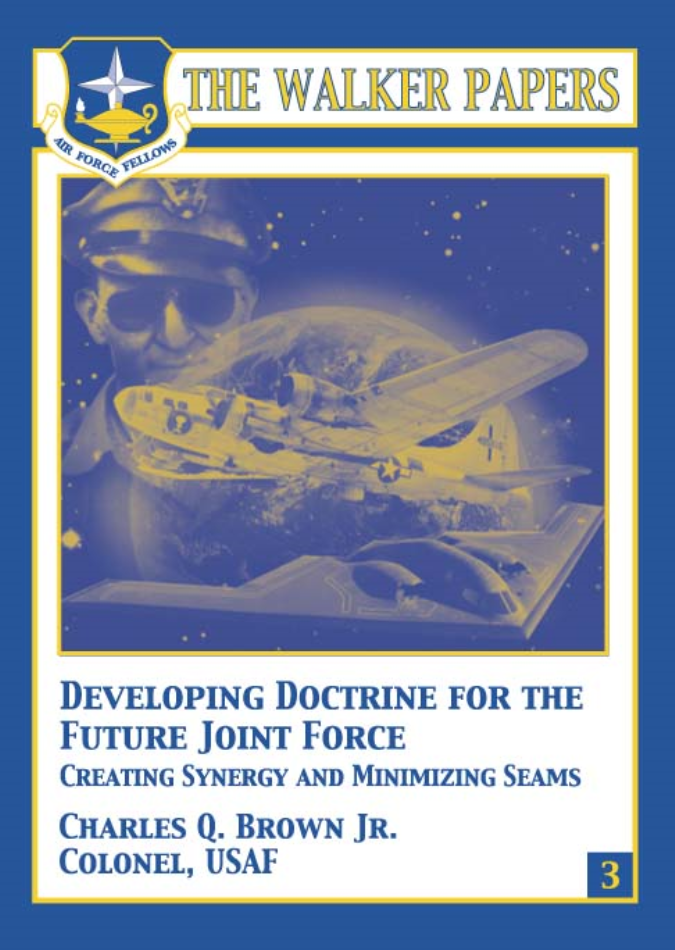 Developing Doctrine for the Future Joint Force [ONLINE ONLY]