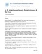 U. S. Lighthouse Board, Establishment & Service A Historical Bibliography