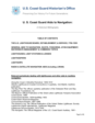 U. S. Coast Guard Aids to Navigation: A Historical Bibliography
