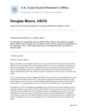 Douglas Munro Commander Dexter Letter, transcribed U.S. Coast Guard