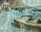 Douglas Munro Guadalcanal Painting
