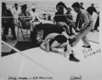 Douglas Munro, wrestling photograph