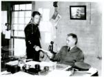 Elmer Stone Photograph, desk U.S. Coast Guard Historian's Office