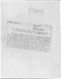 Raymond Evans