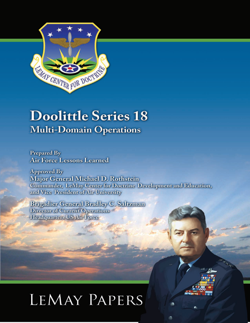 Doolittle Series 18: Multi-Domain Operations