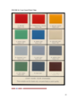 1952 Color Manual Color Chips