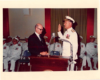 1974 U.S. COAST GUARD COMMANDANT CHANGE OF COMMAND FOR ADMIRAL OWEN SILER