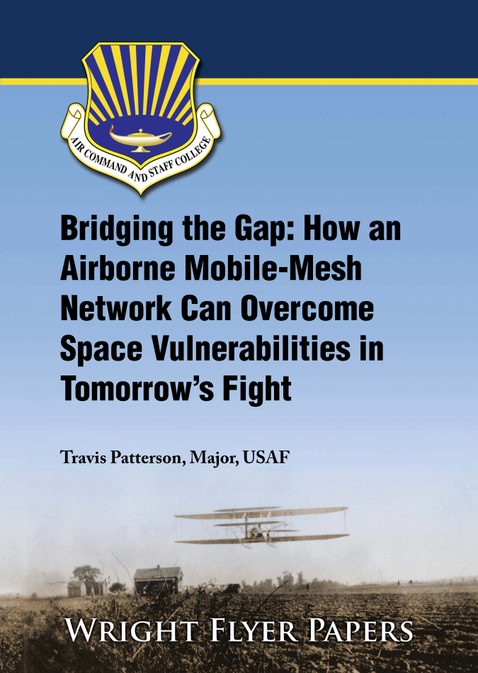 Bridging the Gap: How an Airborne Mobile-Mesh Network Can Overcome Space Vulnerabilities in Tomorrow's Fight