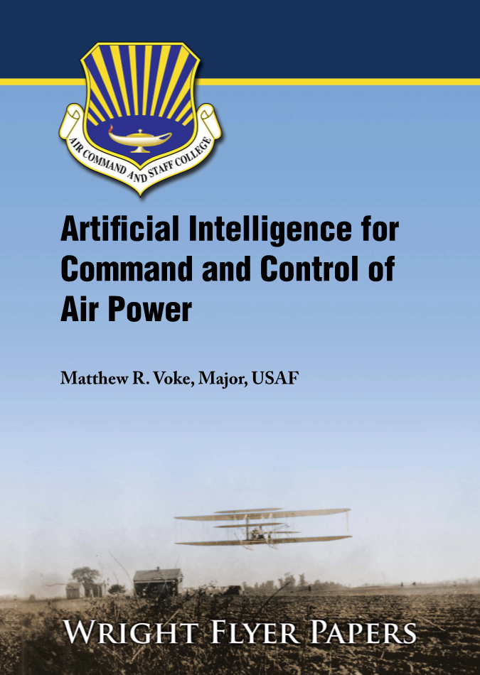 Artificial Intelligence for Command and Control of Air Power